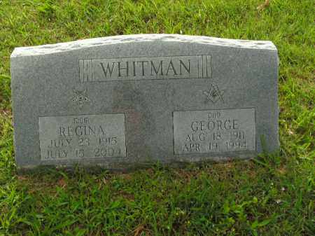WHITMAN, GEORGE - Boone County, Arkansas | GEORGE WHITMAN - Arkansas Gravestone Photos