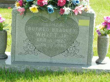 WHITT, BUFRED BRADLEY JR - Boone County, Arkansas | BUFRED BRADLEY JR WHITT - Arkansas Gravestone Photos
