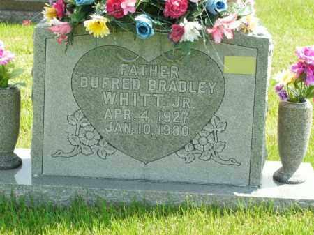 WHITT, BUFRED BRADLEY JR - Boone County, Arkansas   BUFRED BRADLEY JR WHITT - Arkansas Gravestone Photos