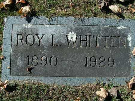 WHITTEN, ROY L. - Boone County, Arkansas | ROY L. WHITTEN - Arkansas Gravestone Photos