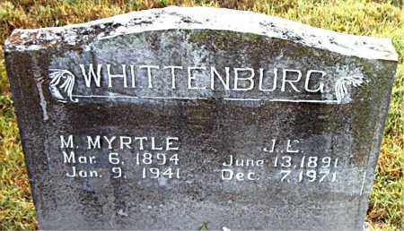 WHITTENBURG, M.  MYRTLE - Boone County, Arkansas | M.  MYRTLE WHITTENBURG - Arkansas Gravestone Photos