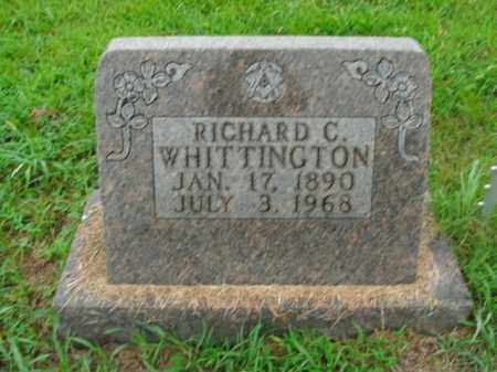 WHITTINGTON, RICHARD C. - Boone County, Arkansas | RICHARD C. WHITTINGTON - Arkansas Gravestone Photos