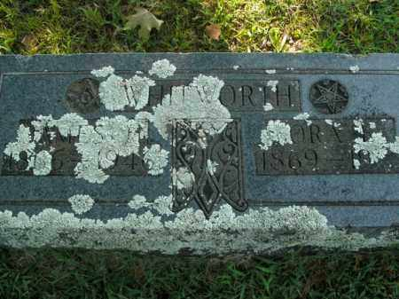 WHITWORTH, JAMES H. - Boone County, Arkansas | JAMES H. WHITWORTH - Arkansas Gravestone Photos