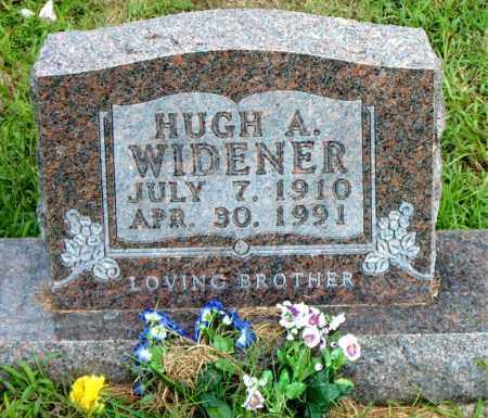 WIDENER, HUGH  A. - Boone County, Arkansas | HUGH  A. WIDENER - Arkansas Gravestone Photos