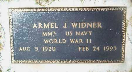 WIDNER  (VETERAN WWII), ARMEL  J - Boone County, Arkansas | ARMEL  J WIDNER  (VETERAN WWII) - Arkansas Gravestone Photos