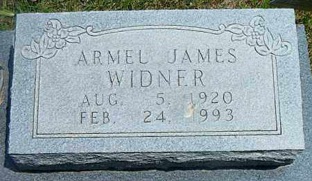 WIDNER, ARMEL JAMES - Boone County, Arkansas | ARMEL JAMES WIDNER - Arkansas Gravestone Photos