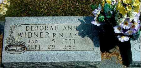 WIDNER, DEBORAH ANN - Boone County, Arkansas | DEBORAH ANN WIDNER - Arkansas Gravestone Photos