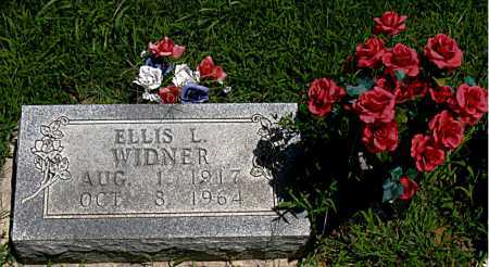 WIDNER, ELLIS L - Boone County, Arkansas | ELLIS L WIDNER - Arkansas Gravestone Photos