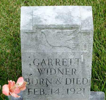WIDNER, GARRETT - Boone County, Arkansas | GARRETT WIDNER - Arkansas Gravestone Photos