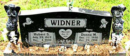 WIDNER, HUBERT S - Boone County, Arkansas | HUBERT S WIDNER - Arkansas Gravestone Photos