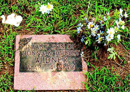 WIDNER, INFANT SON - Boone County, Arkansas | INFANT SON WIDNER - Arkansas Gravestone Photos