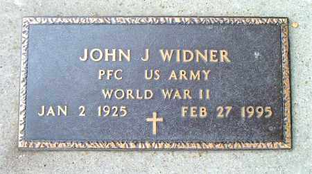 WIDNER  (VETERAN WWII), JOHN J - Boone County, Arkansas | JOHN J WIDNER  (VETERAN WWII) - Arkansas Gravestone Photos
