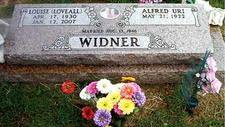 LOVEALL WIDNER, LOUISE - Boone County, Arkansas | LOUISE LOVEALL WIDNER - Arkansas Gravestone Photos