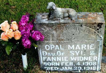 WIDNER, OPAL MARIE - Boone County, Arkansas | OPAL MARIE WIDNER - Arkansas Gravestone Photos