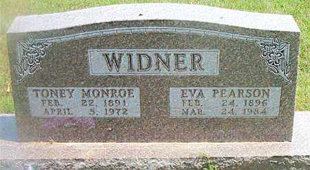 WIDNER, TONEY MONROE - Boone County, Arkansas | TONEY MONROE WIDNER - Arkansas Gravestone Photos