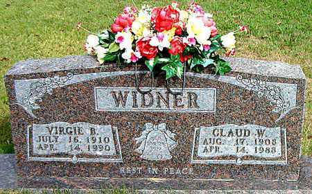 WIDNER, CLAUD  W. - Boone County, Arkansas | CLAUD  W. WIDNER - Arkansas Gravestone Photos