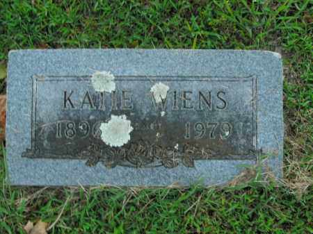 WIENS, KATIE - Boone County, Arkansas | KATIE WIENS - Arkansas Gravestone Photos