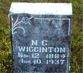 WIGGINTON, N.  G. - Boone County, Arkansas | N.  G. WIGGINTON - Arkansas Gravestone Photos