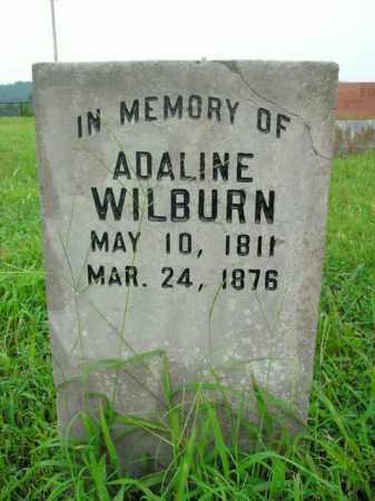 WILBURN, ADALINE - Boone County, Arkansas | ADALINE WILBURN - Arkansas Gravestone Photos