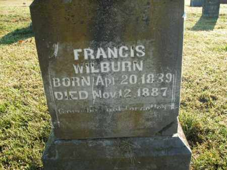 WILBURN, FRANCIS - Boone County, Arkansas | FRANCIS WILBURN - Arkansas Gravestone Photos