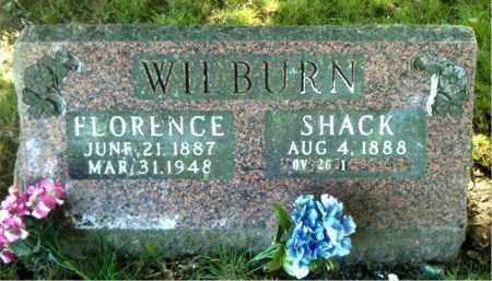 WILBURN, FLORENCE - Boone County, Arkansas | FLORENCE WILBURN - Arkansas Gravestone Photos