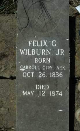 WILBURN, JR, FELIX G. - Boone County, Arkansas | FELIX G. WILBURN, JR - Arkansas Gravestone Photos