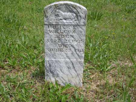 WILCOX, HOMER E. - Boone County, Arkansas | HOMER E. WILCOX - Arkansas Gravestone Photos