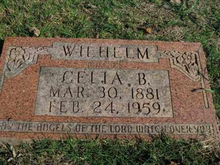 WILHELM, CELIA B. - Boone County, Arkansas | CELIA B. WILHELM - Arkansas Gravestone Photos