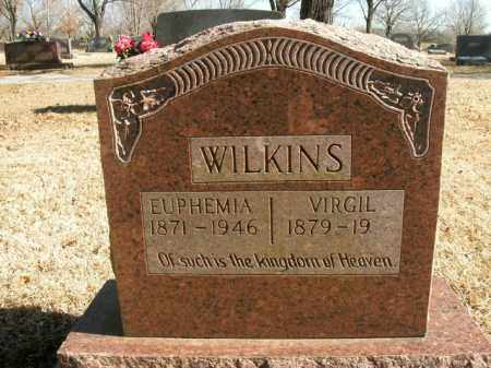 WILKINS, VIRGIL - Boone County, Arkansas | VIRGIL WILKINS - Arkansas Gravestone Photos