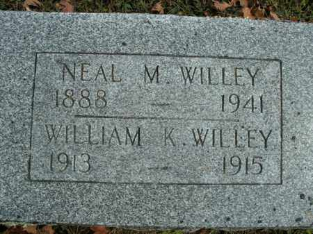 WILLEY, NEAL M. - Boone County, Arkansas | NEAL M. WILLEY - Arkansas Gravestone Photos
