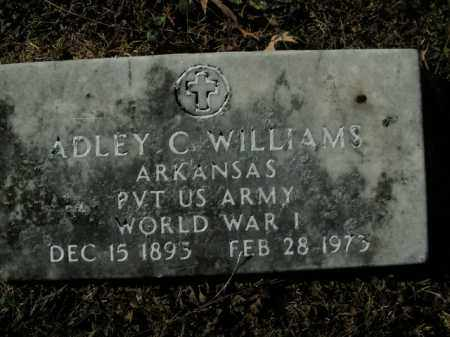 WILLIAMS  (VETERAN WWI), ADLEY C - Boone County, Arkansas | ADLEY C WILLIAMS  (VETERAN WWI) - Arkansas Gravestone Photos