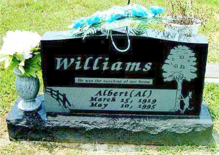 WILLIAMS, ALBERT   (AL) - Boone County, Arkansas | ALBERT   (AL) WILLIAMS - Arkansas Gravestone Photos