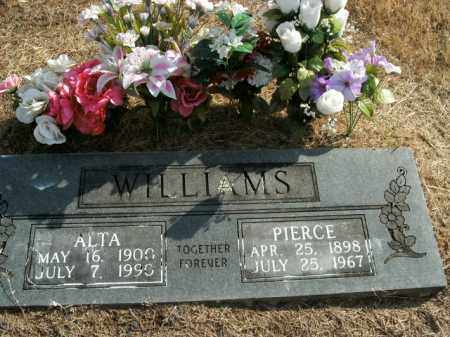 WILLIAMS, ALTA - Boone County, Arkansas | ALTA WILLIAMS - Arkansas Gravestone Photos