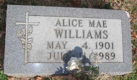 WILLIAMS, ALICE MAE - Boone County, Arkansas | ALICE MAE WILLIAMS - Arkansas Gravestone Photos