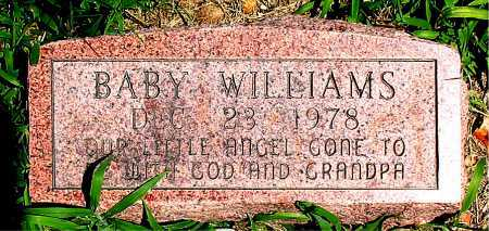 WILLIAMS, BABY - Boone County, Arkansas | BABY WILLIAMS - Arkansas Gravestone Photos