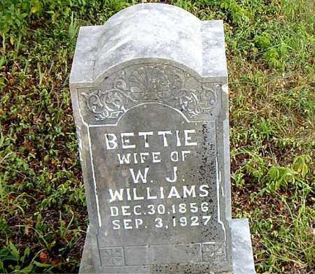 WILLIAMS, BETTIE - Boone County, Arkansas | BETTIE WILLIAMS - Arkansas Gravestone Photos