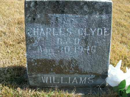 WILLIAMS, CHARLES CLYDE - Boone County, Arkansas | CHARLES CLYDE WILLIAMS - Arkansas Gravestone Photos