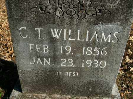WILLIAMS, C.T. - Boone County, Arkansas | C.T. WILLIAMS - Arkansas Gravestone Photos