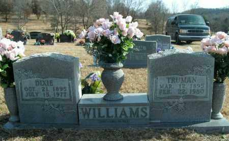 WILLIAMS, SAMUEL TRUMAN - Boone County, Arkansas | SAMUEL TRUMAN WILLIAMS - Arkansas Gravestone Photos