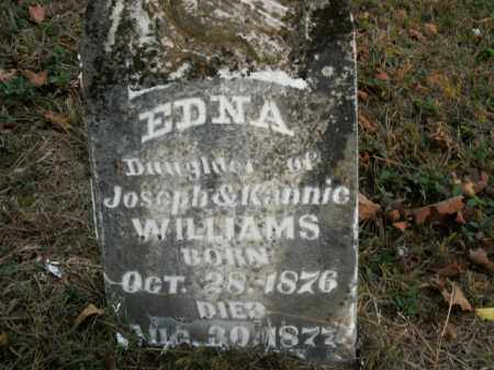 WILLIAMS, EDNA - Boone County, Arkansas | EDNA WILLIAMS - Arkansas Gravestone Photos