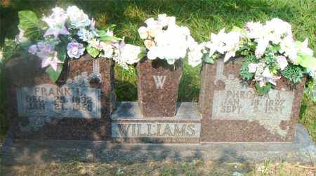 WILLIAMS, FRANK  L. - Boone County, Arkansas | FRANK  L. WILLIAMS - Arkansas Gravestone Photos