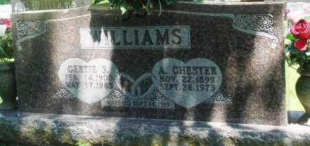 WILLIAMS, ARVIL CHESTER - Boone County, Arkansas | ARVIL CHESTER WILLIAMS - Arkansas Gravestone Photos