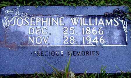 WILLIAMS, JOSEPHINE - Boone County, Arkansas   JOSEPHINE WILLIAMS - Arkansas Gravestone Photos