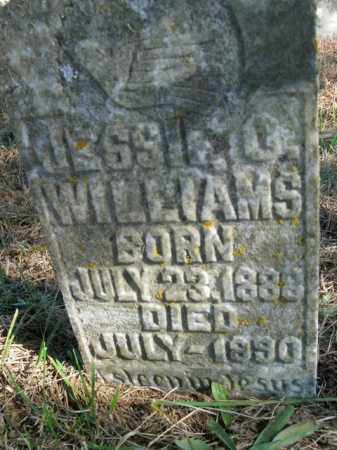 WILLIAMS, JESSIE O. - Boone County, Arkansas | JESSIE O. WILLIAMS - Arkansas Gravestone Photos