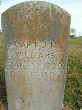 WILLIAMS, J.H. - Boone County, Arkansas | J.H. WILLIAMS - Arkansas Gravestone Photos