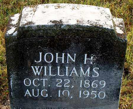 WILLIAMS, JOHN HENRY - Boone County, Arkansas | JOHN HENRY WILLIAMS - Arkansas Gravestone Photos