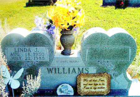 WILLIAMS, LINDA  J. - Boone County, Arkansas | LINDA  J. WILLIAMS - Arkansas Gravestone Photos