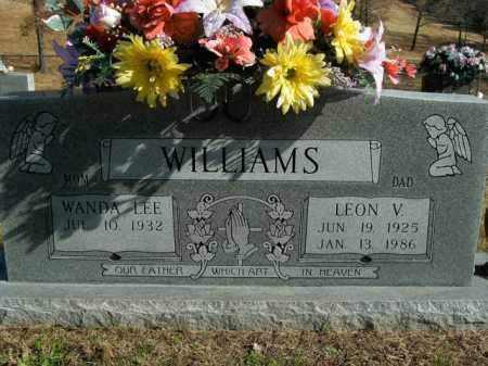 WILLIAMS, LEON V. - Boone County, Arkansas | LEON V. WILLIAMS - Arkansas Gravestone Photos