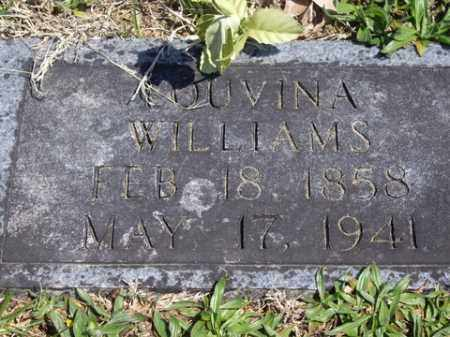 WEST WILLIAMS, LOUVINA - Boone County, Arkansas | LOUVINA WEST WILLIAMS - Arkansas Gravestone Photos