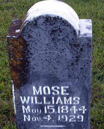WILLIAMS  (VETERAN CSA), MOSE - Boone County, Arkansas | MOSE WILLIAMS  (VETERAN CSA) - Arkansas Gravestone Photos